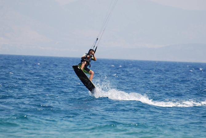 kids surf Rhodes