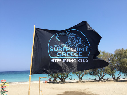 kitesurfing greece