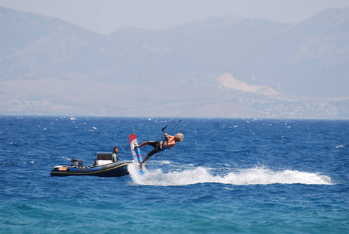 kitesurf greece
