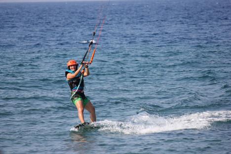 kids kiteboarding