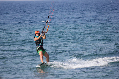kids kiteboarding