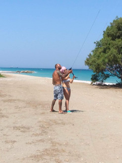kite lessons rhodes