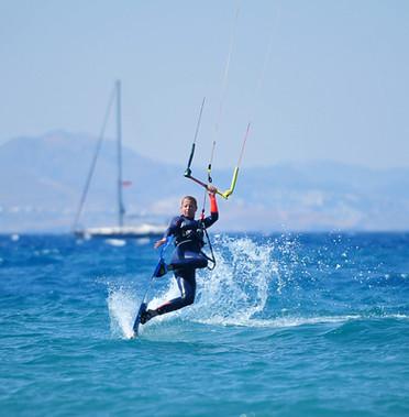 kiteboarding Rhodes