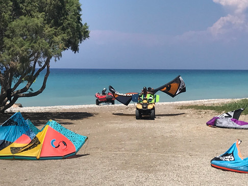 kitesurf  and more in rhodes