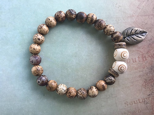 Natural Wood Texture Agate