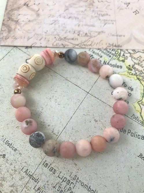 Pink opals