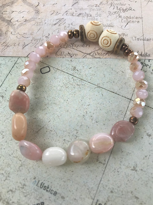 Natural Pink Opals