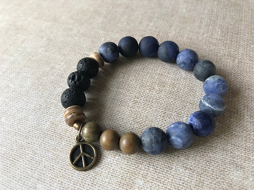Sodalite and Sandalwood
