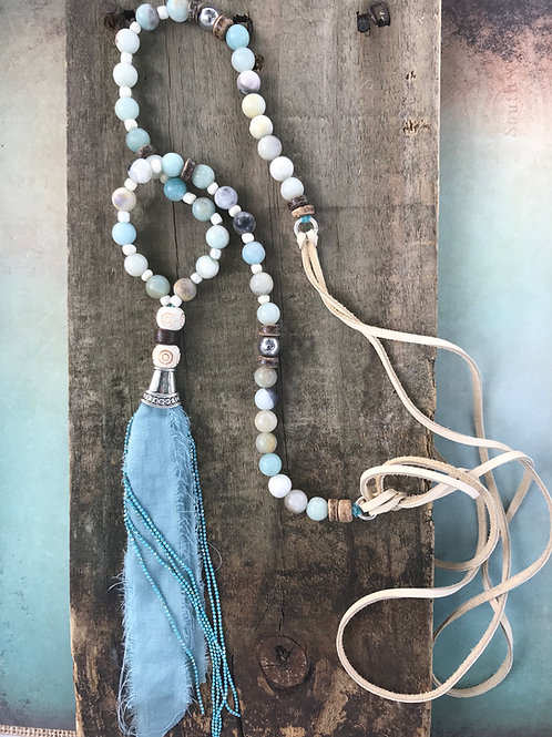 Blue Tassel Amazonite