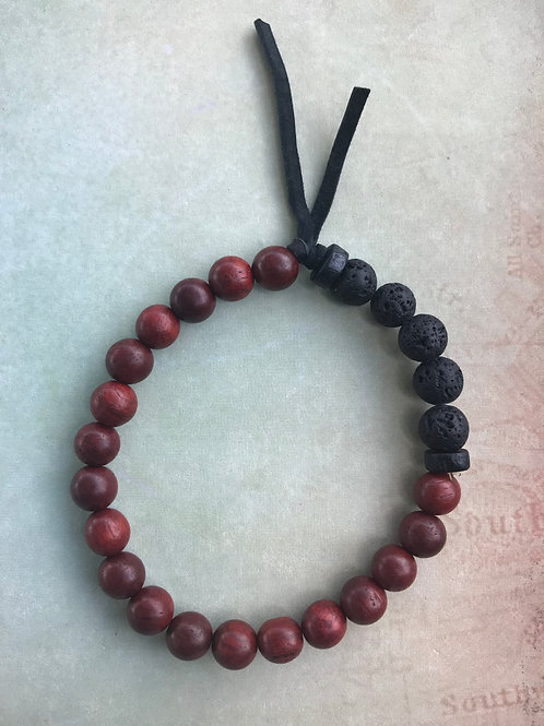 Rosewood Boho Bracelet