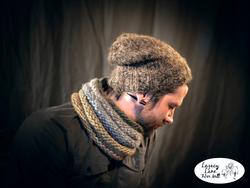 Made with alpaca lopi yarn