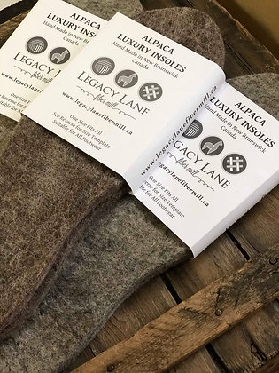 Alpaca Wool & Hemp Insoles