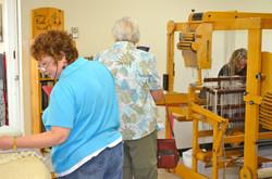 Alyson Brown weaving