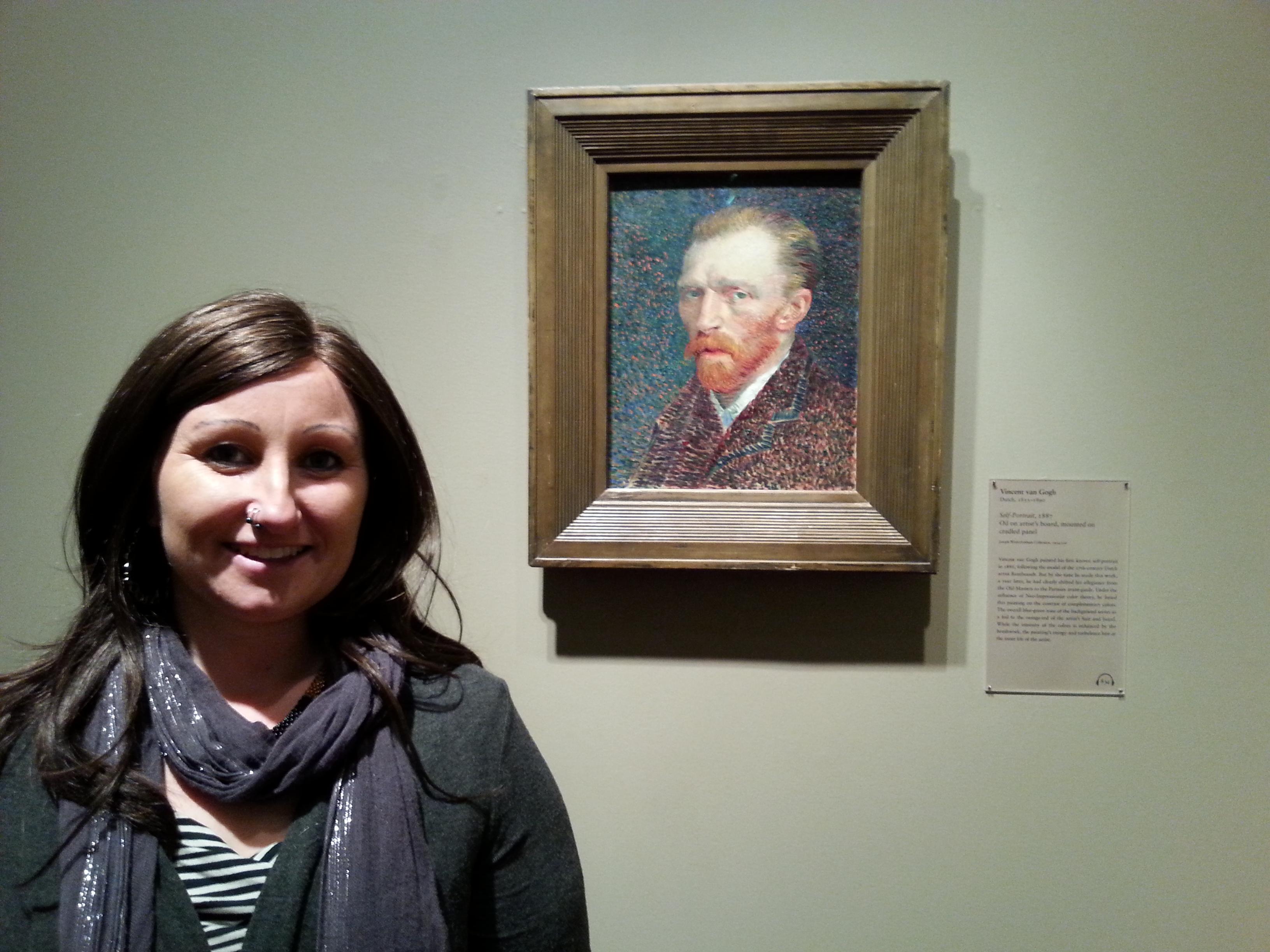Hangin' with van Gogh