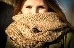 Handwoven shawl/scarf