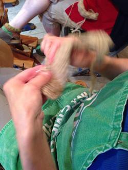 Knit fast
