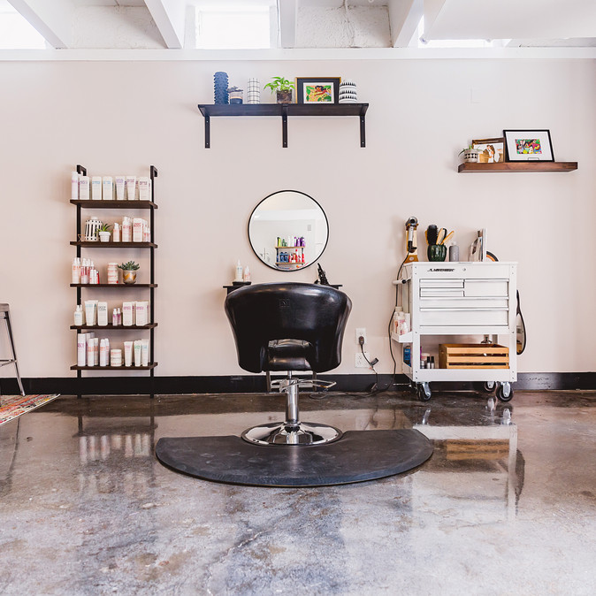A Funky Salon Space