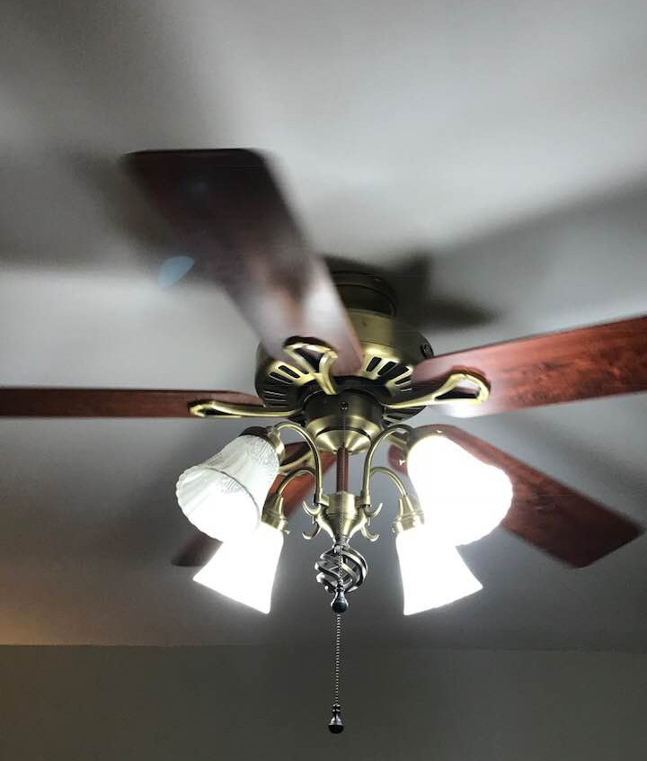 Original Lighting/Fan