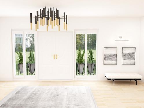 Modern Entry |Virtual Background