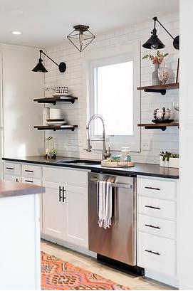 Fresh + Clean Kitchen