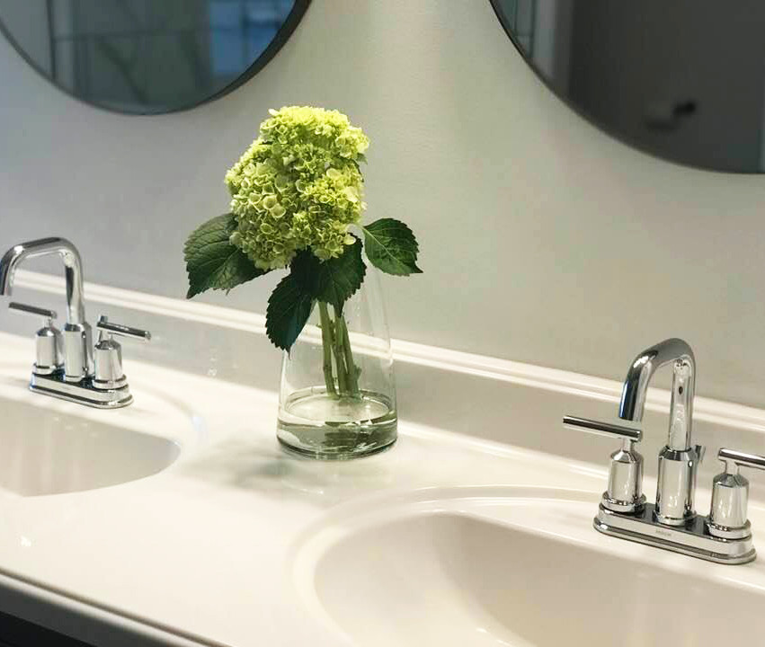 Faucets + Flowers