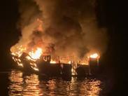 Al menos ocho muertos y 26 desaparecidos tras incendiarse un barco en California
