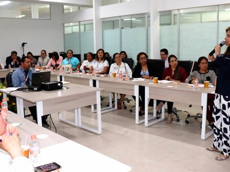Imparte IEE capacitación sobre violencia Política contra las mujeres a Compromiso por Puebla