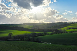 Green Hills and Valleys