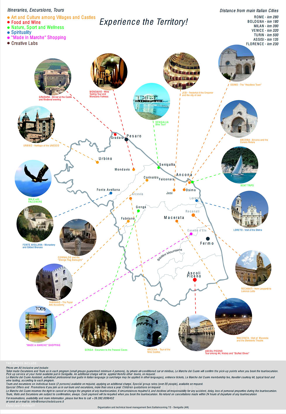 Marche Sightseeing