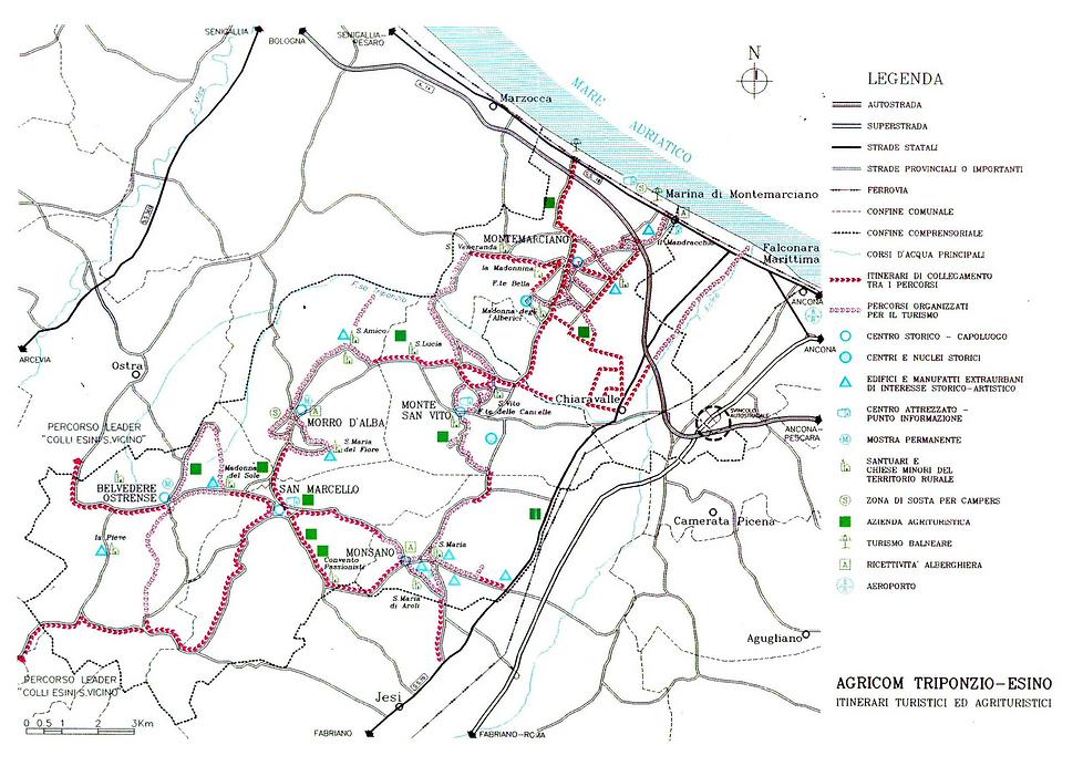 Terre del Lacrima: Hiking and MTB trails