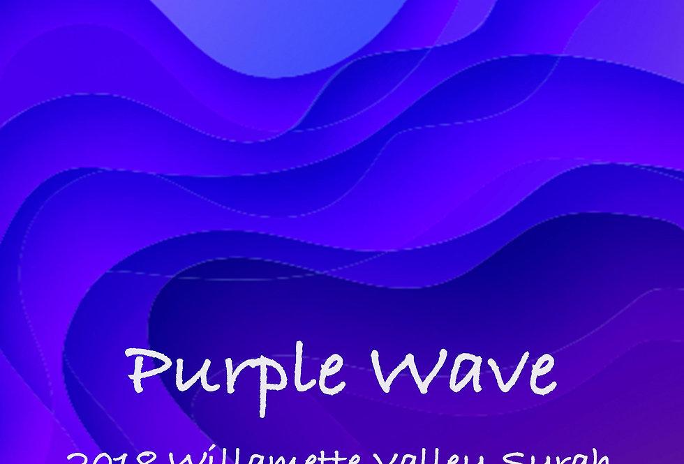 Purple Wave Syrah 2018