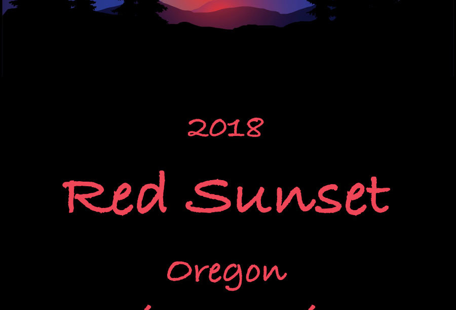 Red Sunset 2018 Pinot Noir