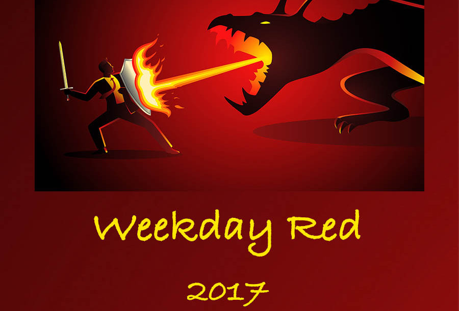Weekday Red