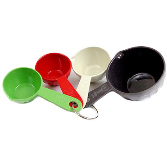 Molded Bamboo Measuring Cups
