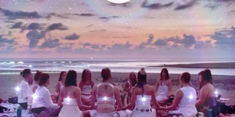 New Moon Goddess Circle + Sound Bath w/ Tara Atwood at Restore Meditation