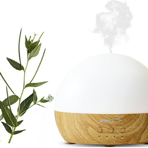 Amber Blue Aromatherapy Lumiere Diffuser