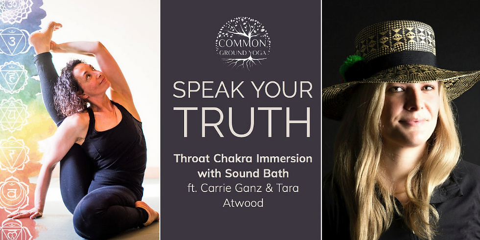 Speak Your Truth: Chakra Immersion and Sound Bath in Framingham, MA