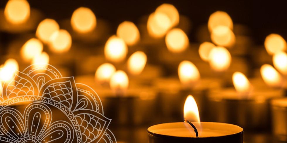 New Year + New Intentions: Candlelit Meditation & Sound Bath: Restore Meditation in Woburn, MA