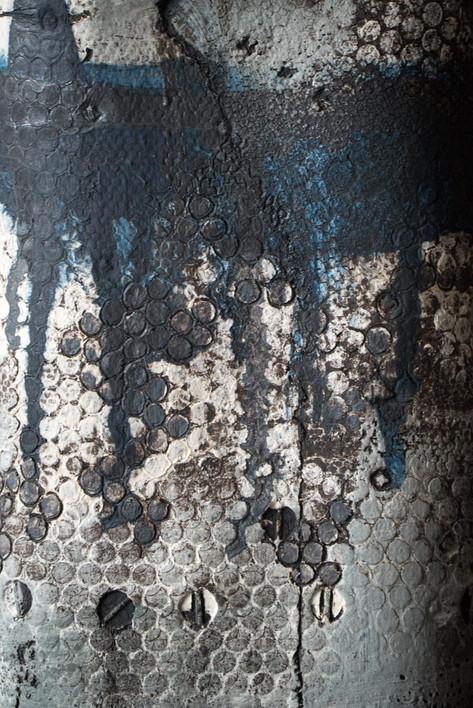 Textured bottle (detail) 2017