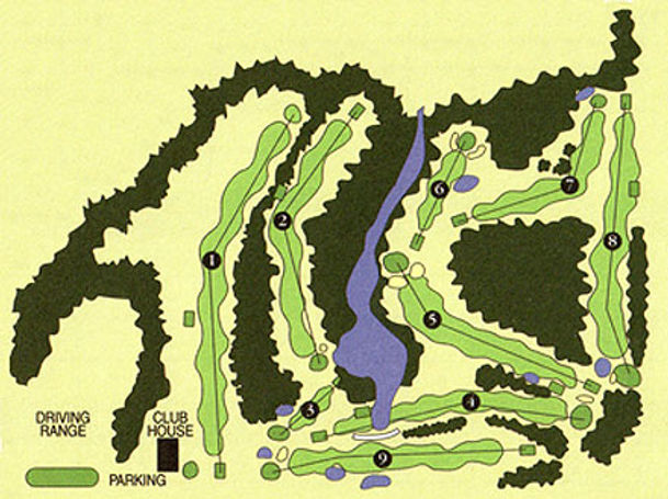gunflint hills golf course map