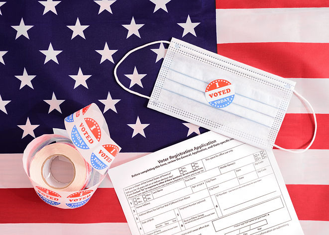 American voters must register by filling