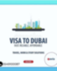 We provide easy affordable Dubai visa se