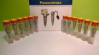 Diesel injector nozzle parts