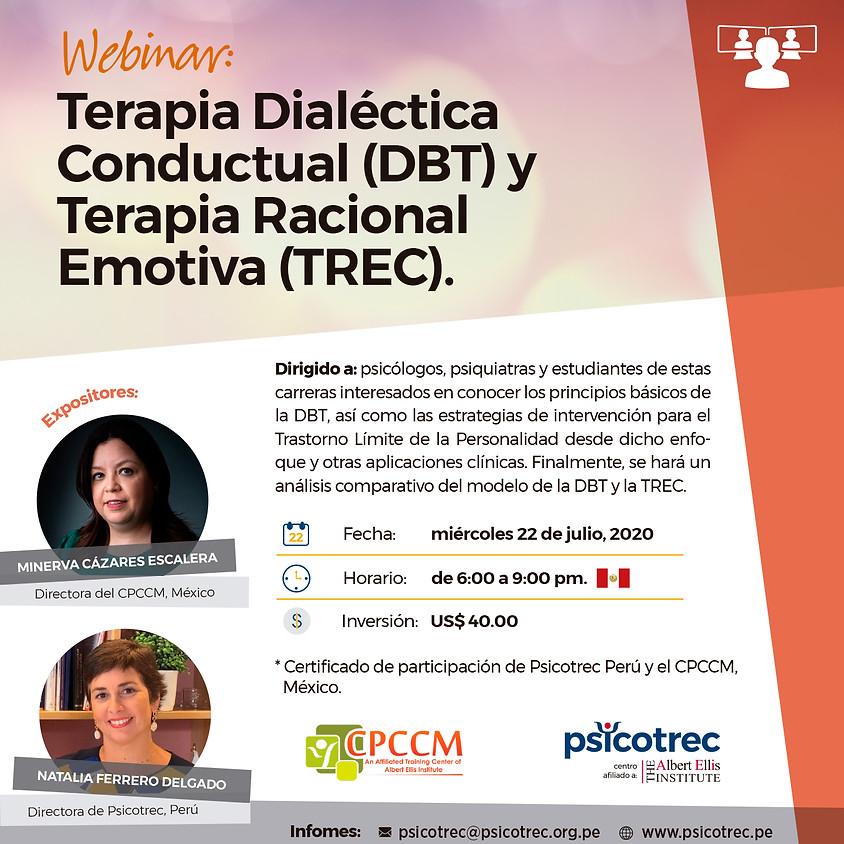 Terapia Dialéctica Conductual (DBT) y Terapia Racional Emotiva (TREC)
