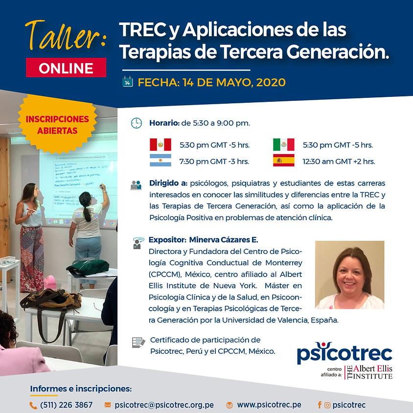 TREC y Aplicaciones de las Terapias de Tercera Generación