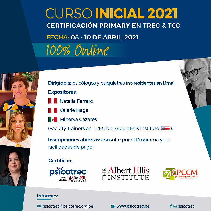 CURSO INICIAL 2021