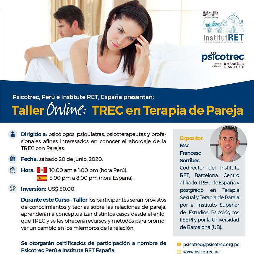 Taller Online: TREC en Terapia de Pareja