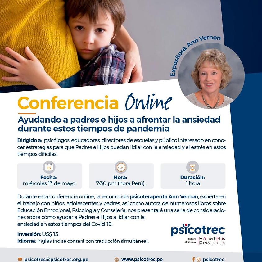 Ayudando a Padres e hijos a afrontar la ansiedad durante estos tiempos de pandemia