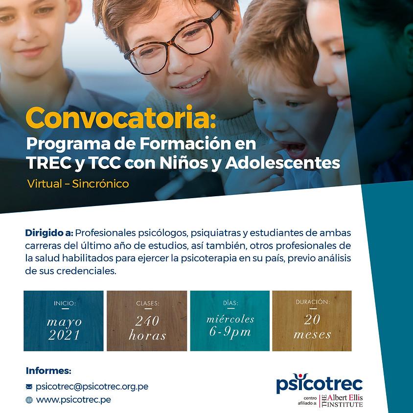 Programa de Formación en TREC y TCCcon Niños y Adolescentes
