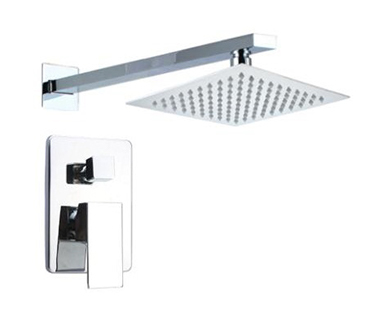 Dual Function Square Shower Head